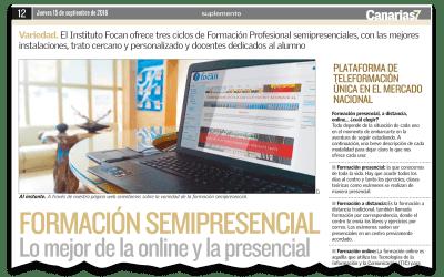 Formación Semipresencial: lo mejor de la online y la presencial
