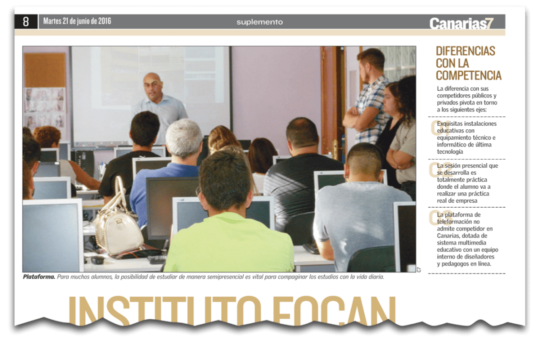 Instituto Focan: formando profesionales, formando personas