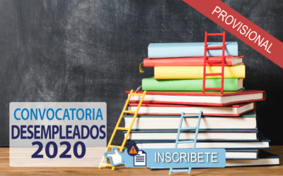 Listado PROVISIONAL de Cursos para Desempleados 2020