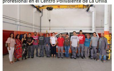 30 alumnos se forman para obtener el certificado profesional en el Centro Polivalente de La Orilla
