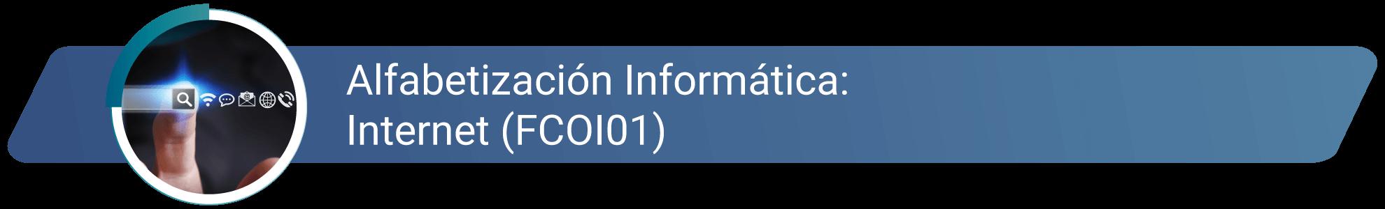 FCOI01 - Alfabetización informática_Internet