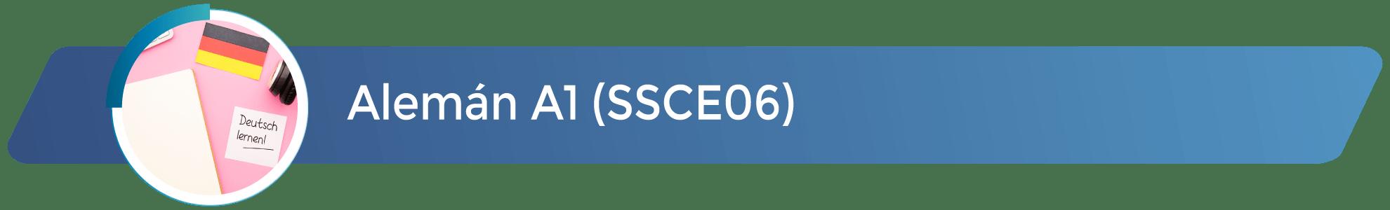 SSCE06 - Alemán A1