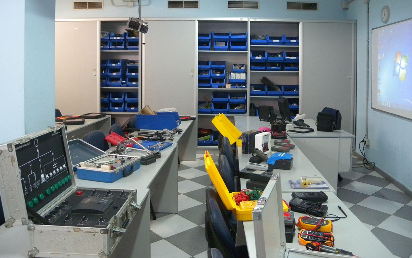 Gran Canaria - Aula industrial