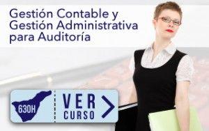 Curso Gestión Contable y Gestión administrativa para Auditoría Gratuito para Ocupados en Tenerife