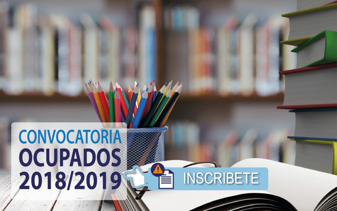 Cursos GRATUITOS para Ocupados 2018/19