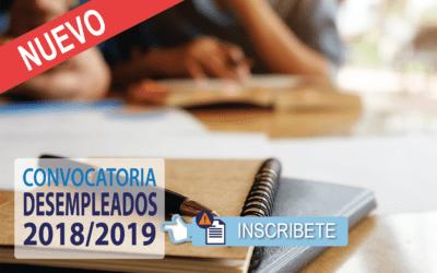Cursos Gratuitos para Desempleados 2018/19