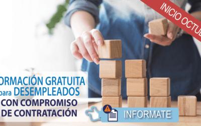 Formación Gratuita para Desempleados con Compromiso de Contratación