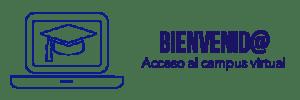 Icono de portátil para acceso al campus online de Instituto Focan