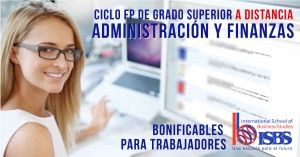 ciclo FP superior Administración y Finanzas