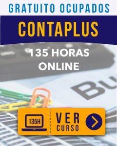 Curso Online gratuito para ocupados Gestión Contable Contaplús
