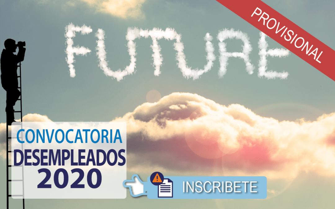 Publicada Resolución Provisional Cursos para 2020. Inicios DICIEMBRE 2019 – Matricula Abierta