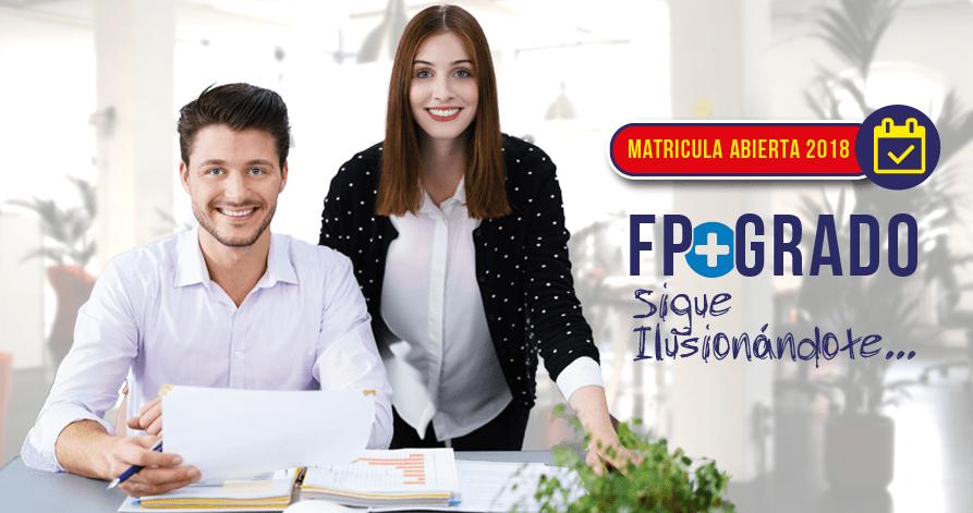 Ciclo FP Administración y Finanzas con Grado Universitario en Administración y Dirección de empresas