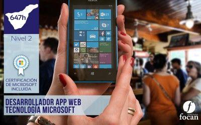 Curso App Web Microsoft para Desempleados en Tenerife