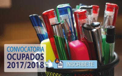 Cursos GRATUITOS para Ocupados 2017/18