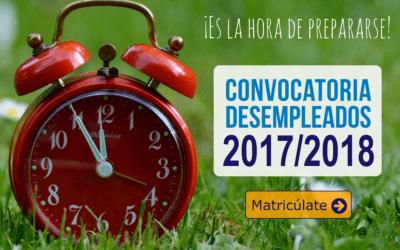 Cursos Gratuitos para Desempleados 2017/18