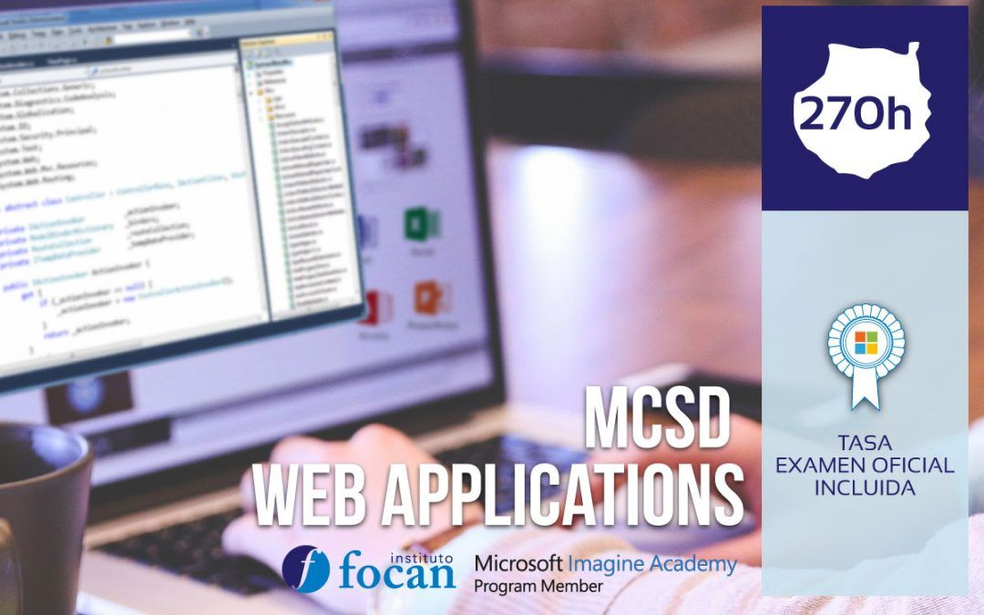 Curso Microsoft MCSD Web Applications Gran Canaria