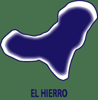 Silueta isla de Hierro