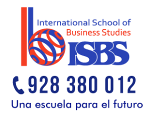 Logotipo Instituto ISBS, una escuela para el futuro
