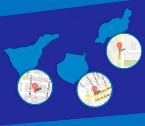 mapa de las tres sedes de Instituto Focan