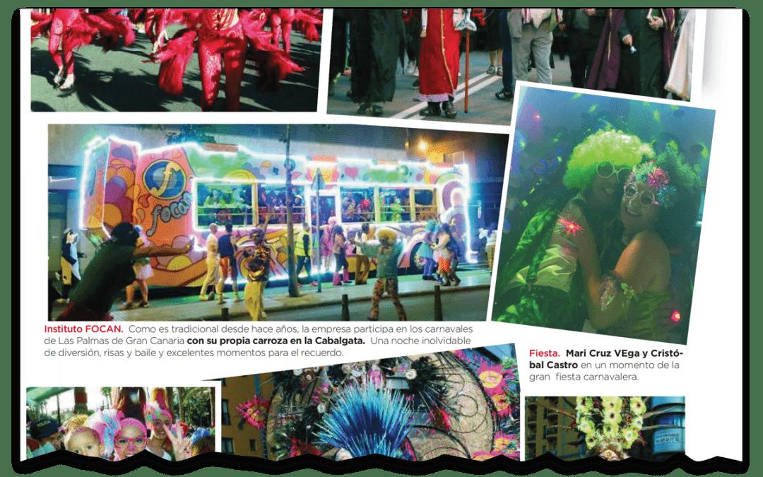 Focan en los Carnavales de la Eterna Primavera