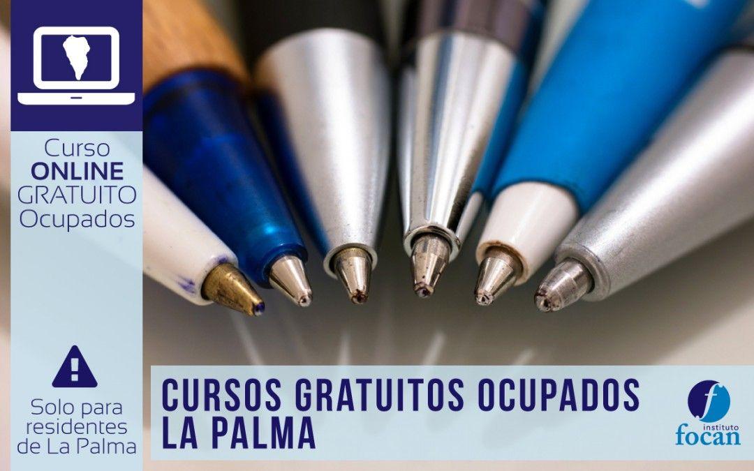 Cursos Online para Ocupados de Análisis Contable y Administrativos para residentes de La Palma